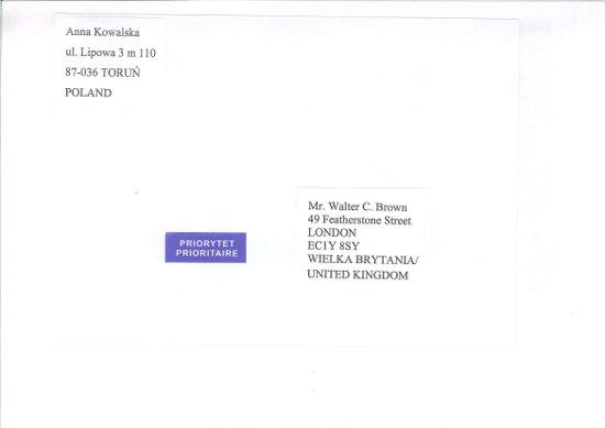 5a2f9ed4673411 Wzór adresowania przesyłki listowej zagranicznej priorytetowej